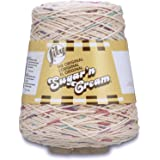 Lily 10300202178 Sugar 'N Cream Yarn, 14 Ounce Cone, Potpourri, Single Ball