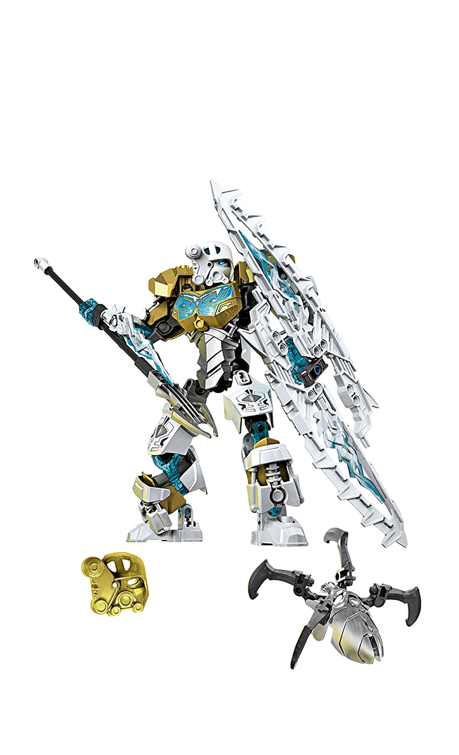 , 70788 Discontinued by manufacturer 6100300 Master of Ice Toy LEGO Bionicle Kopaka