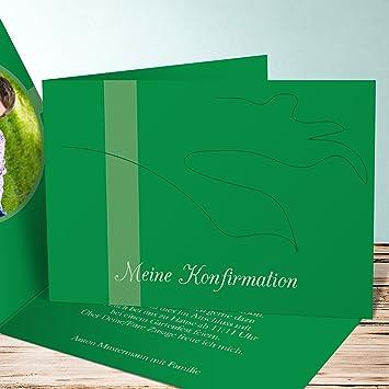 Einladungskarten Konfirmation Basteln Scherenschnitt Taube