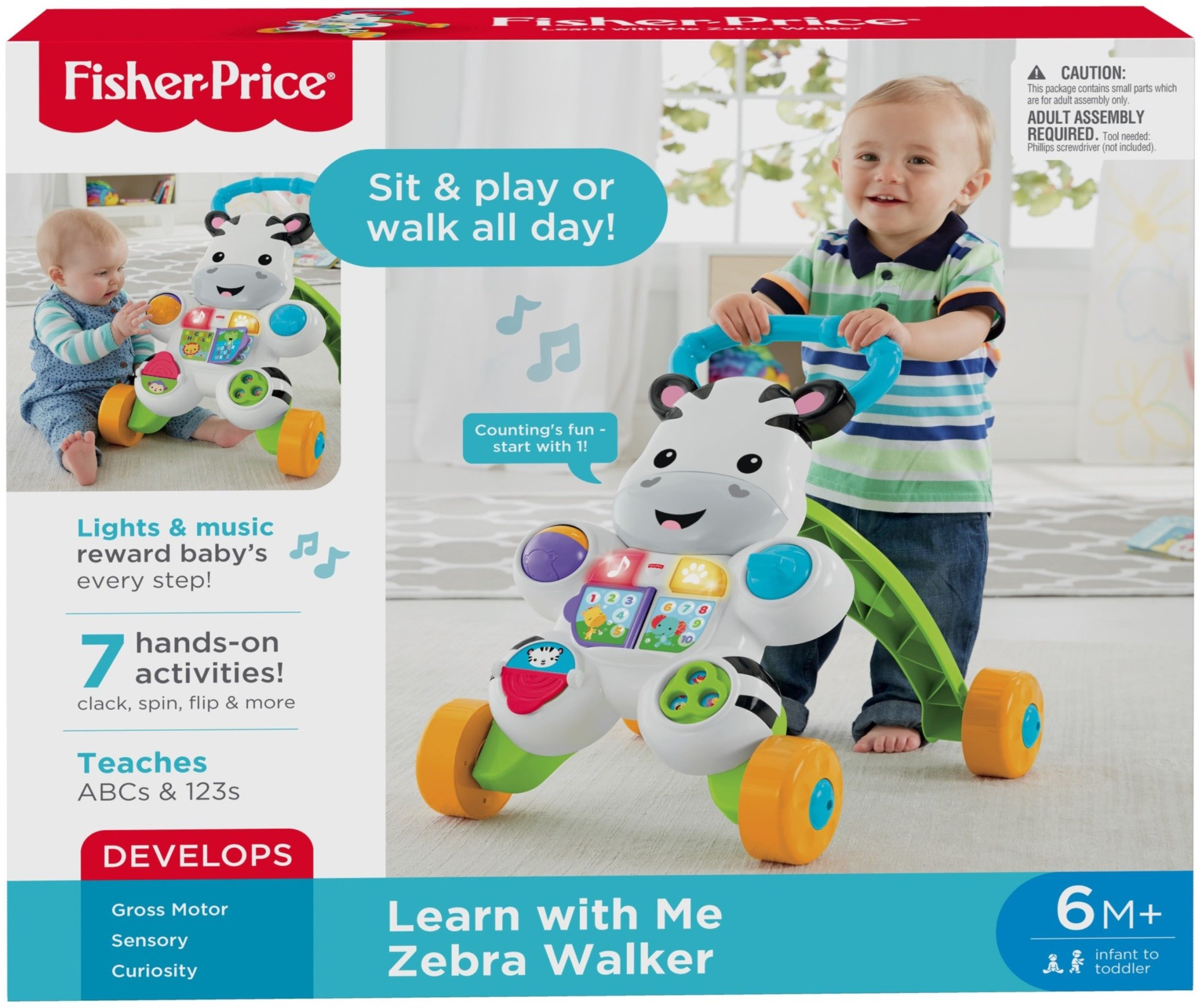 Fisher-Price Learn with Me Zebra Walker by Fisher-Price (Image #4)