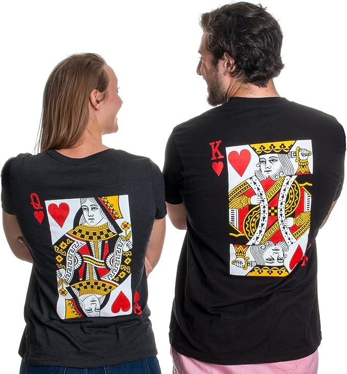 juego de playeras negras para parejas