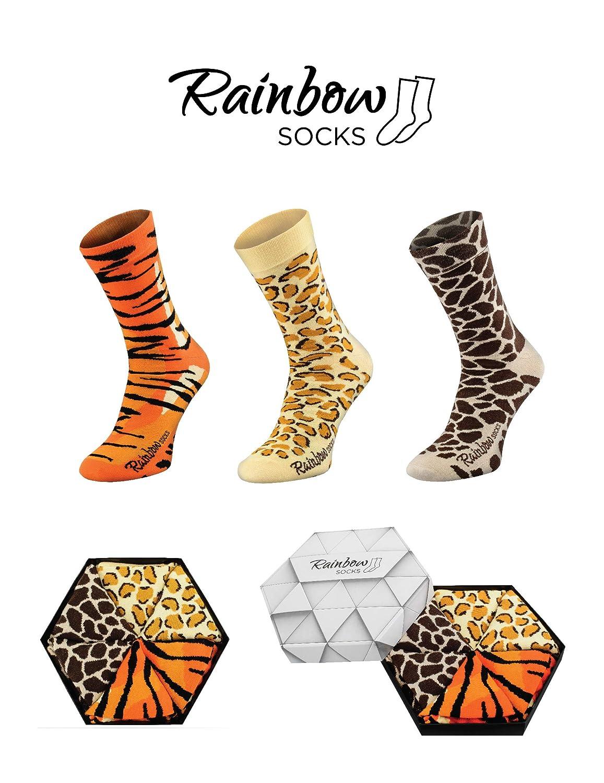 Rainbow Socks 2 Paia Donna Uomo Divertenti Hamburger Calze