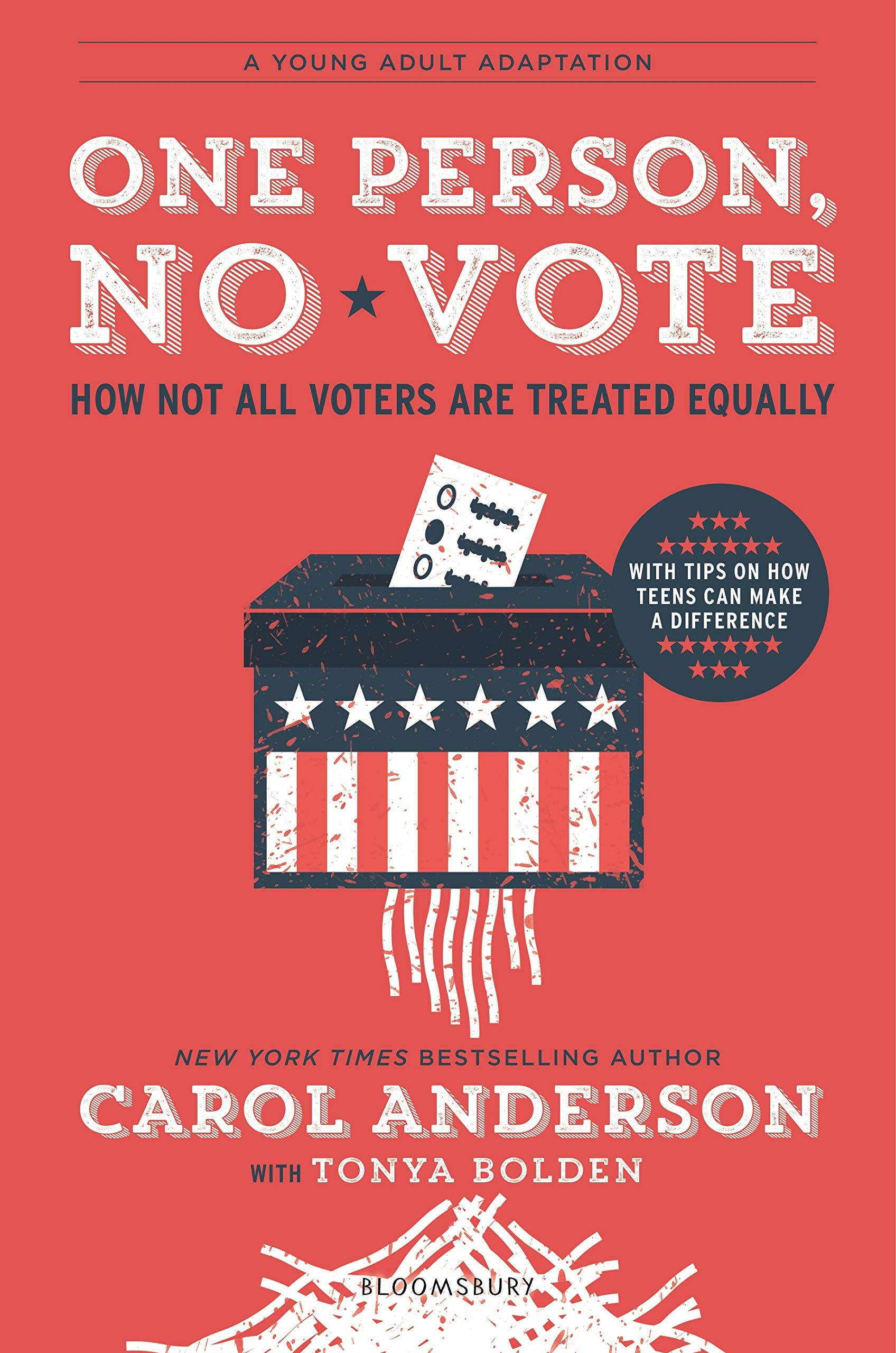 One Person, No Vote: How Not All Voters Are Treated Equally (YA Edition)