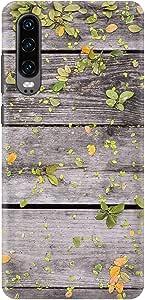 Stylizedd Huawei P30, Slim Snap Basic Case Cover Matte Finish - Backyard Patio