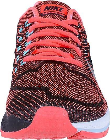 Nike W Air Zoom Structure 18 Femme Noir SchwarzKoralle