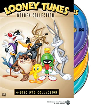 Amazon com: Looney Tunes: Golden Collection, 4-disc DVD
