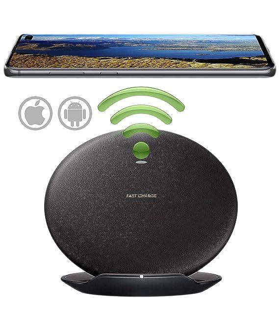 Amazon com: Qi Fast Wireless Charger, Wireless Charging Pad