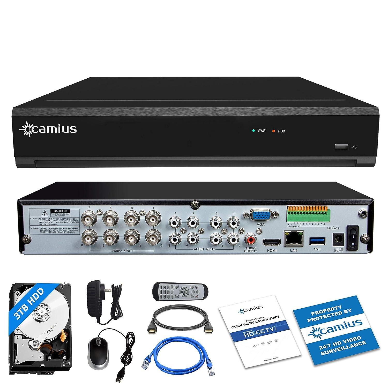 Camius 8MP Business Home Security Surveillance Camera System