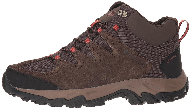Columbia Mens Buxton Peak Mid Waterproof Wide Hiking Boot,