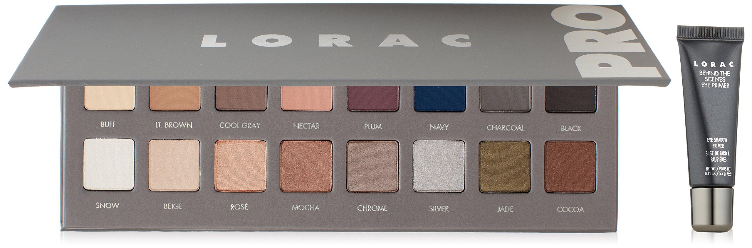Lorac Eye Shadow Pro Palette 3 Luxury Beauty Lt Naturally Glam 2