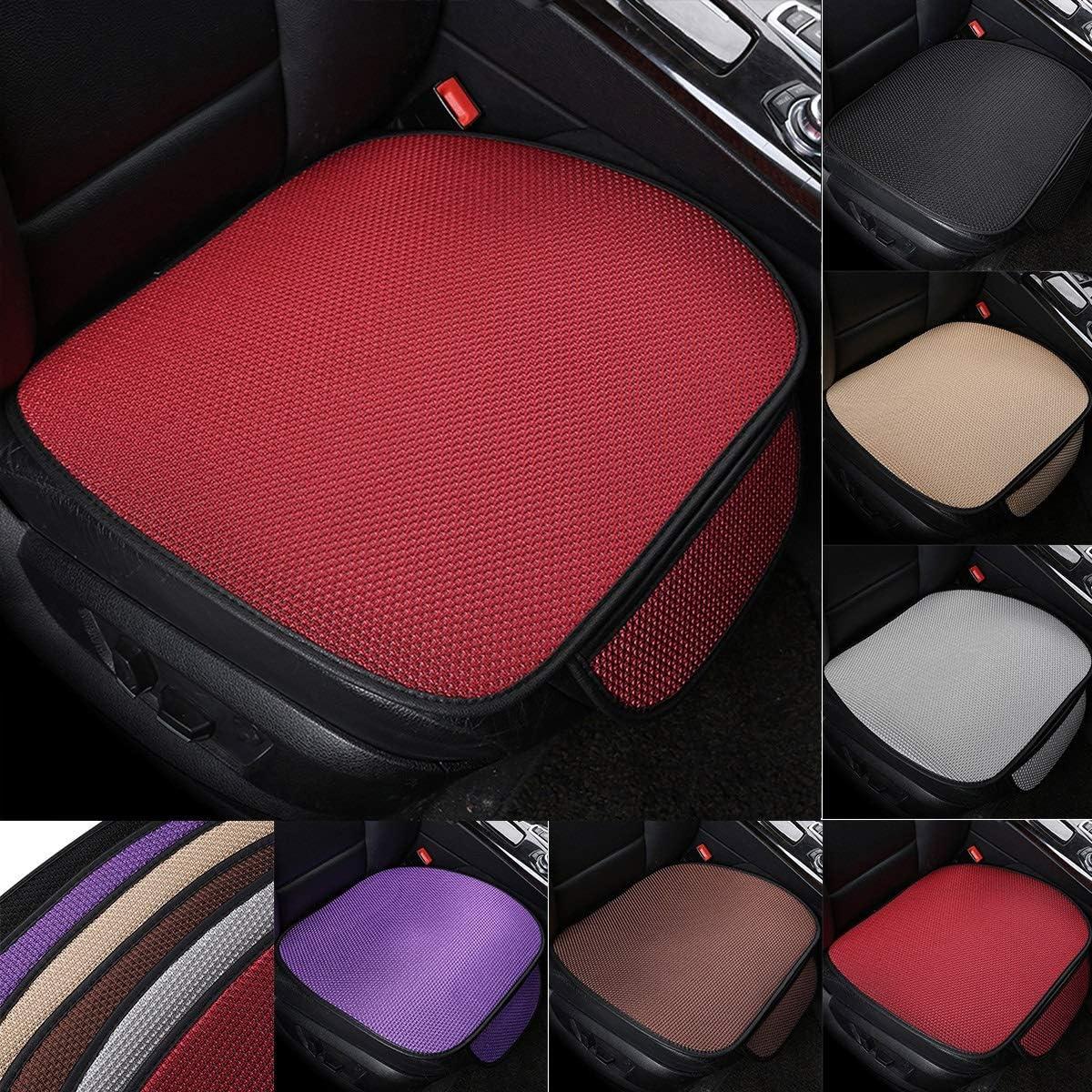 Color : Coffee 53 cm Jinxuny Autositzbezug Kissen Pad Matte Atmungsaktive Sitzbez/üge Autoinnenausstattung 50