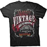 60th Birthday Shirts for Men 1961 - Classic Aged to Perfection