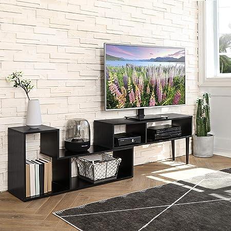 FITUEYES Meuble TV en Bois Banc de Salon Moderne pour ...