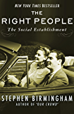 The Right People: The Social Establishment in America