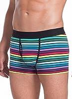 Jockey Men's Underwear Multi-Color Stripe Trunk