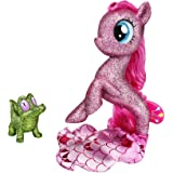 My Little Pony: The Movie Pinkie Pie Seapony Figure with Light-Up Base