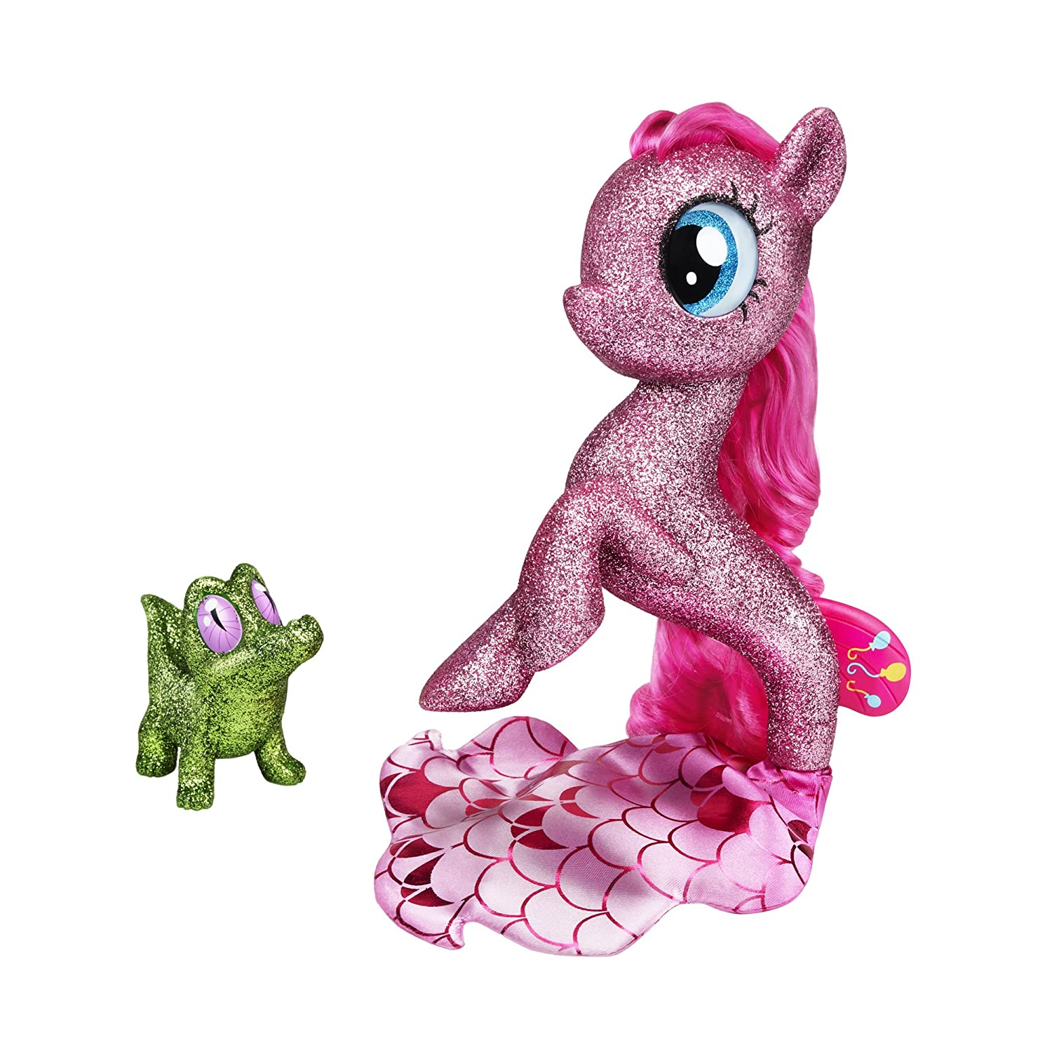 My Little Pony: The Movie Pinkie Pie Seapony Figure with Light-Up Base (Amazon Exclusive)