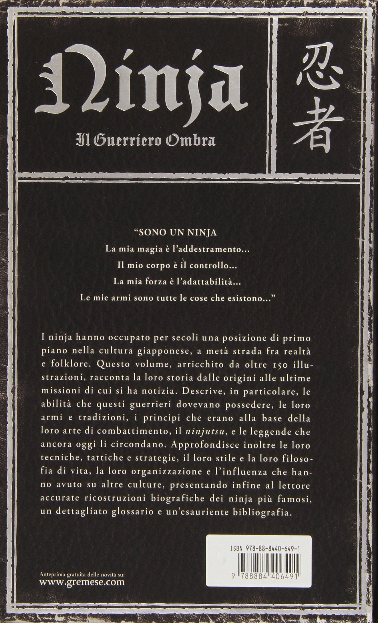 Amazon.com: Ninja. Il guerriero ombra (9788884406491): Books