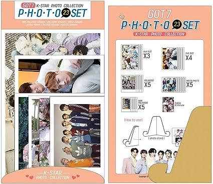 2019 NEW K-POP PHOTO 23 SET (PHOTO COLLECTION SERIES) (GOT7)