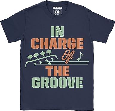 6TN Hombre En la Carga de la Camiseta del Guitarrista del bajo del ...