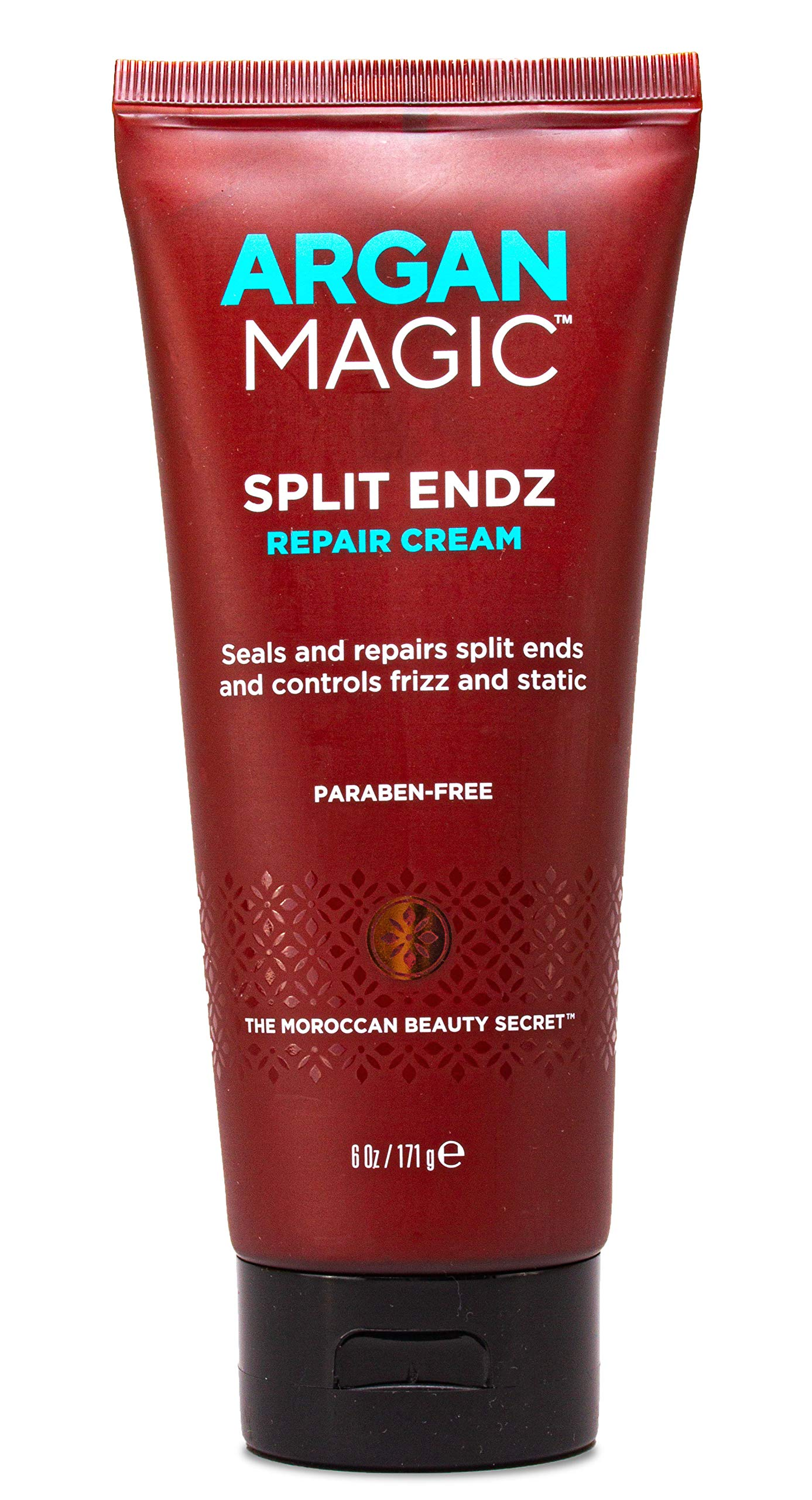 Argan Magic Split Endz Repair Cream - Instantly Binds Frayed and Separated Ends While Preventing Future Breakage (6 Ounce / 171 Gram) by Argan Magic