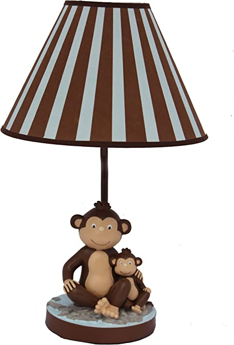 Adorable Monkey And Child Table Lamp And Nightlight For Kids Amazon Com