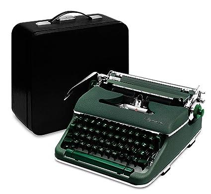 amazon com professionally restored 1960 olympia typewriter green rh amazon com buy manual typewriter uk buy manual typewriters online