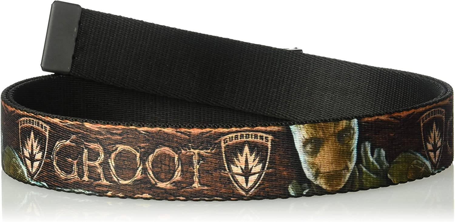Character Pose Blocks 2 1.5 Wide-24-38 Inches in Length Buckle-Down Unisex-Adults Seatbelt Belt Guardians of The Galaxy Regular