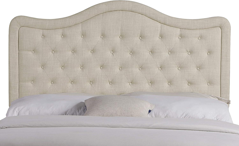 Rosevera Upholstered Headboard, Queen, Beige