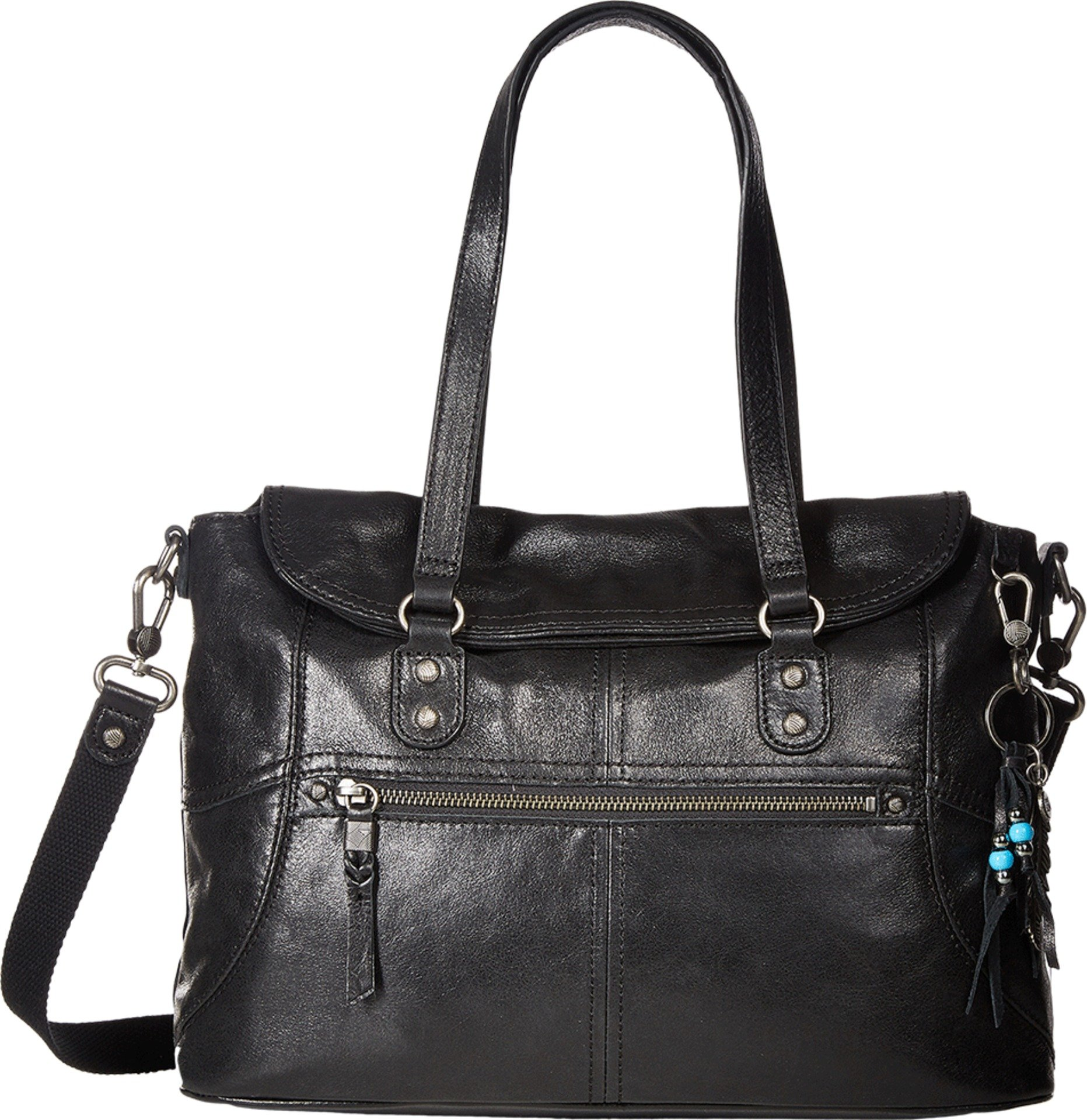 The Sak Unisex Esperato Satchel Black Handbag by The Sak