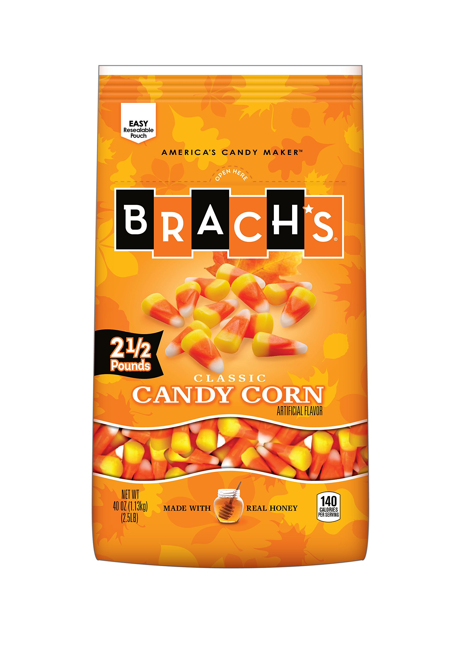 Brach's Classic Candy Corn , 40 Ounce (Pack of 6) by Brach's (Image #1)