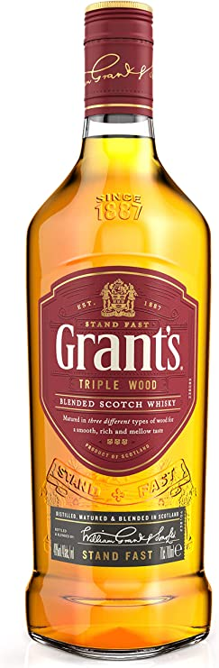 Grants TRIPLE WOOD Blended Scotch Whisky 40% - 700 ml