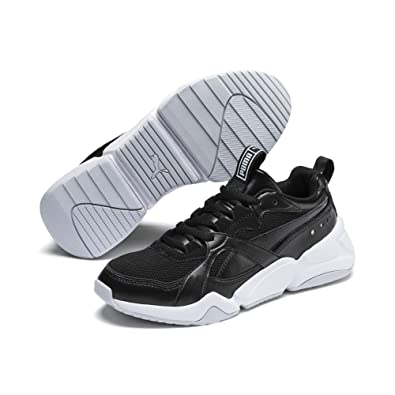 Puma Damen Nova 2 WN's Sneaker, Black Heather, 37 EU: Amazon
