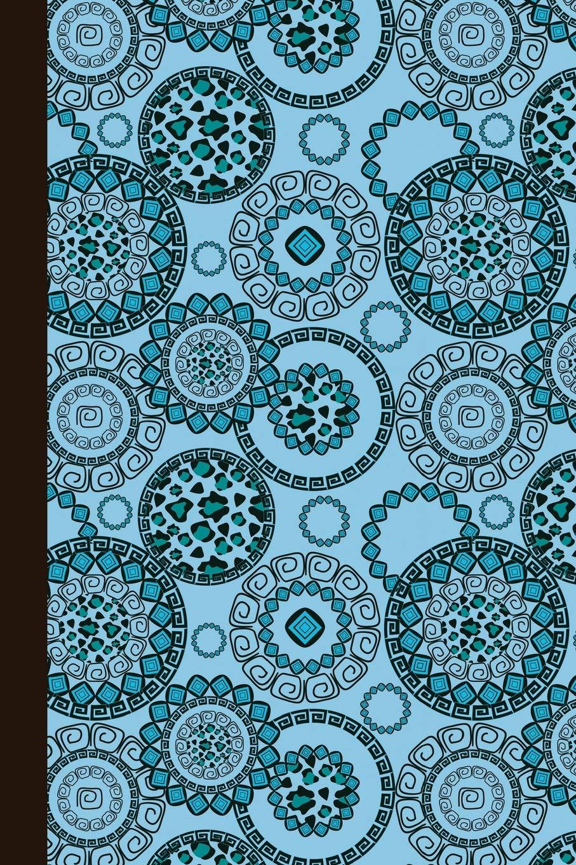 Journal: Animal Print Mandala (Blue) 6x9 - GRAPH JOURNAL - Journal with graph paper pages, square grid pattern (Mandala Design Graph Journal Series) PDF