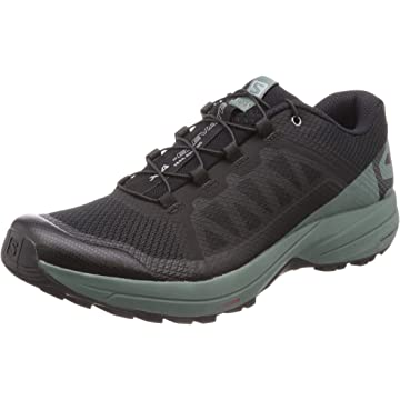Salomon Men's XA Elevate Trail Running Shoes Black/Balsam Green/Black 10.5