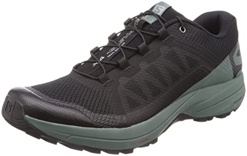 Salomon Men's XA Elevate Trail Running Shoes Black/Balsam Green/Black 10.5