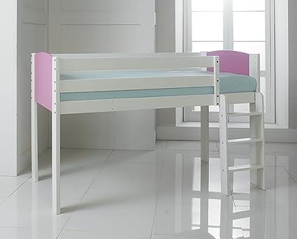 60,96 cm 15,24 cm de manga y pernera estrecha para cama individual de madera ...