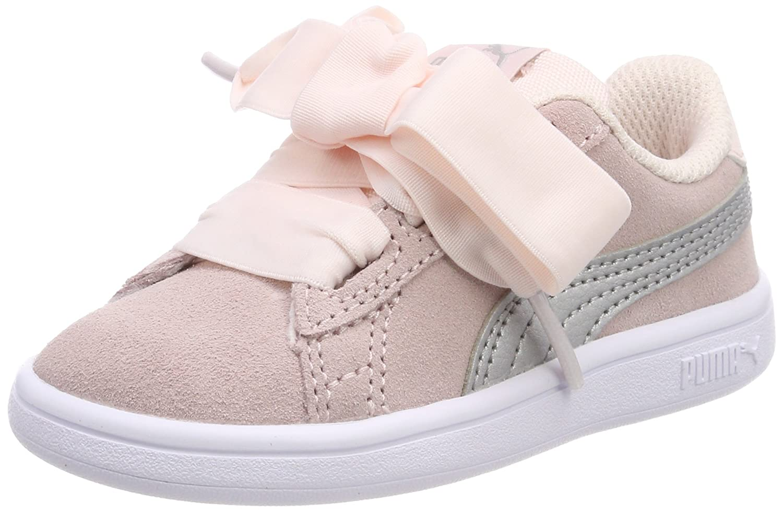 Puma Smash V2 Ribbon AC Inf, Sneakers Basses Mixte bébé 366005