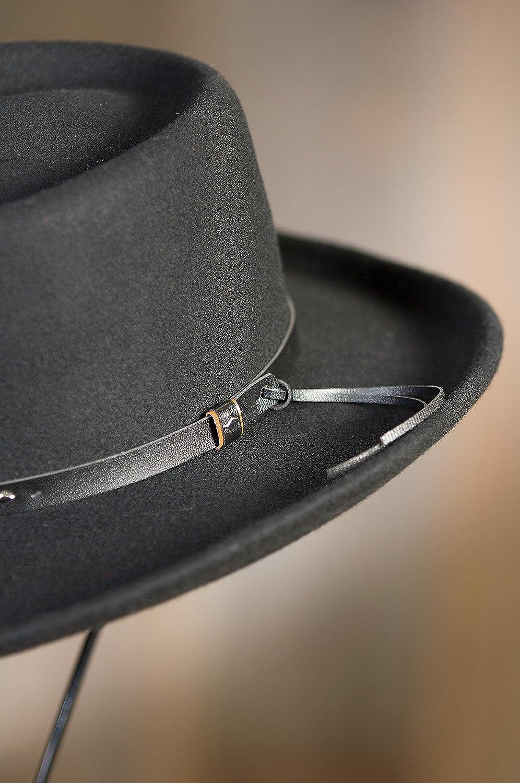eaf7fcfee19 Overland Sheepskin Co Quincy Crushable Wool Waterproof Gambler Hat Overland  Sheepskin Co. 83750 larger image