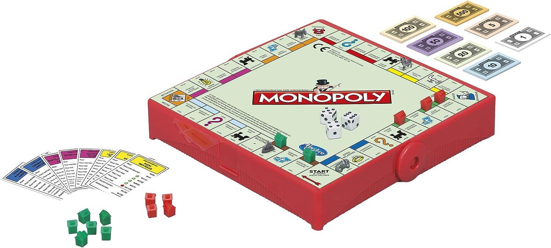 Hasbro Travel Game Monopoly: Amazon.es: Juguetes y juegos