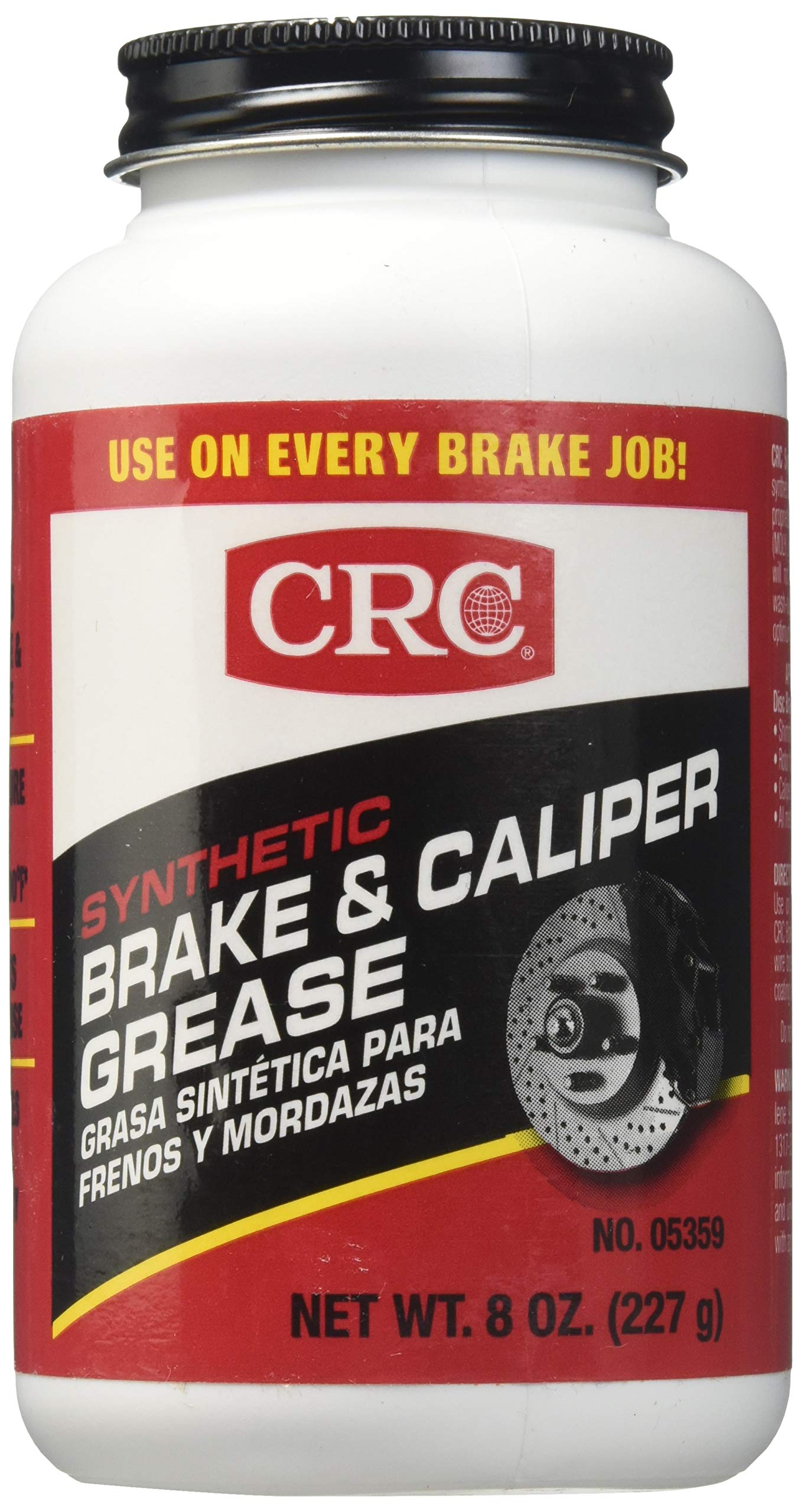 CRC 05359-6PK Brake & Caliper Synthetic Grease Tub, 8. Fluid_Ounces, 6 Pack by CRC