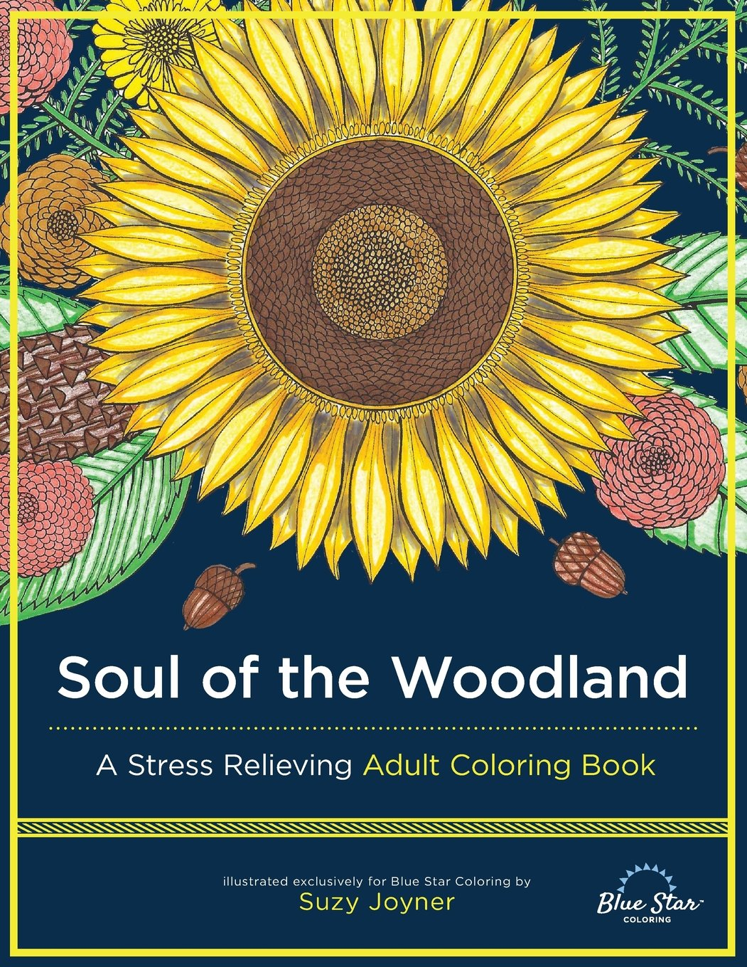 Soul Woodland Stress Relieving Coloring