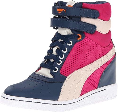 d65c6d8aa1f Puma Women s Sky Wedge Fashion Sneaker