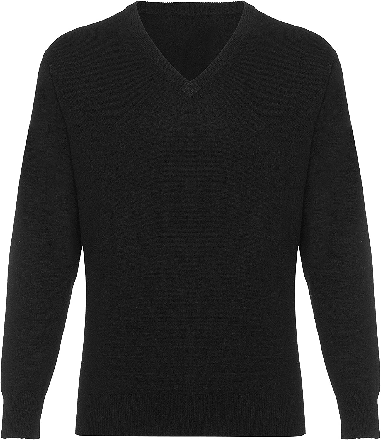 Lona Scott Men's Cashmere V Neck Sweater
