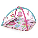 Amazon Price History for:Bright Starts Charming Chirps Activity Gym, Pretty In Pink