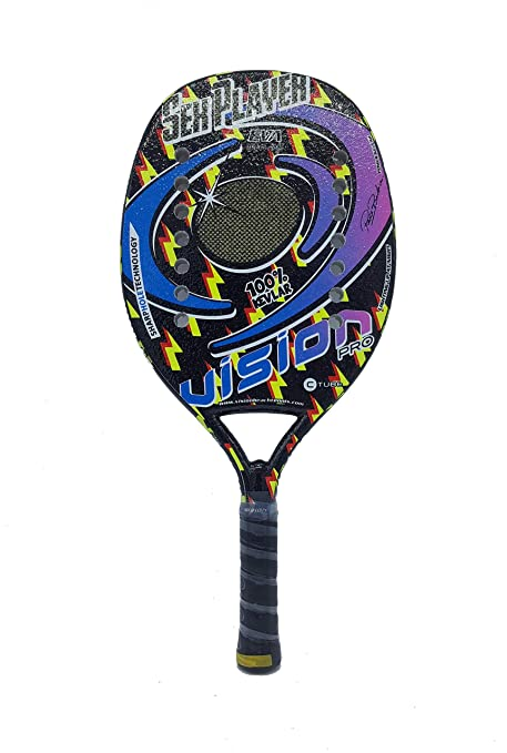Amazon.com : Vision Pro Racket Racquet Beach Tennis Sex ...