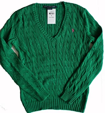 Ralph Lauren Women's Cable Knit Sweater, Jumpers Knitwear Polo ...