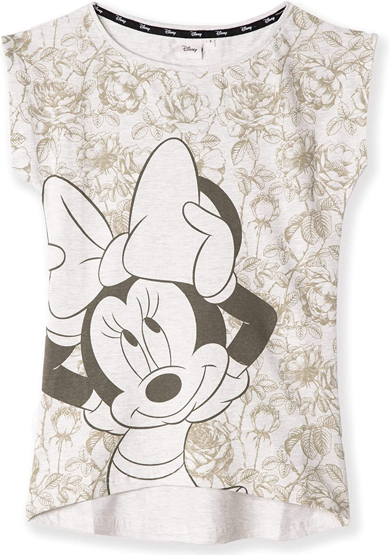 adolescenti S-XL Disney Minnie /& Mickey Mouse Personaggi Maglietta in cotone originale per donne