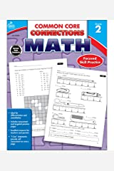 Carson Dellosa | Common Core Connections Math Workbook | 2nd Grade, 96pgs Paperback
