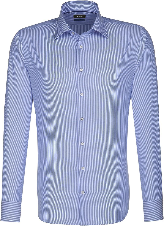 Seidensticker Kent Slim Fit Camisa para Hombre
